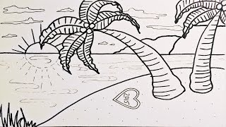 Watch How To Draw Beach Lessons And Draw By Yourself