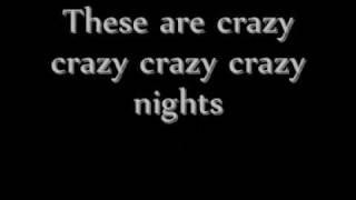 Crazy Crazy Nights - Kurt Nilsen - Lyrics
