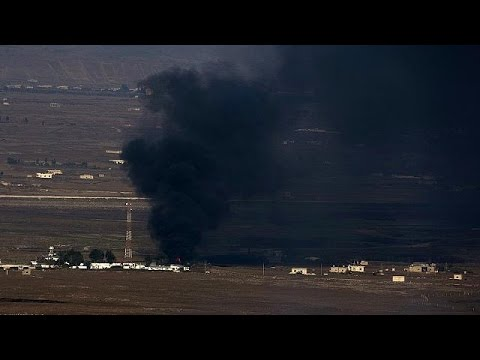 Syrian planes bomb rebel-held border post near Golan Heights