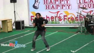 Best semi classical and western  dance by engineering students