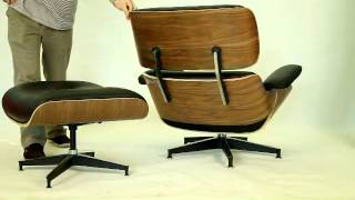 Eames Lounge Chair And Ottoman Cf021