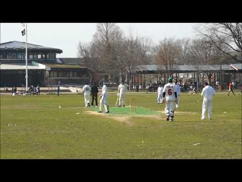 Ali Malik  ball by ball bowling spell Marine Park, Brooklyn , NY April 14, 2018