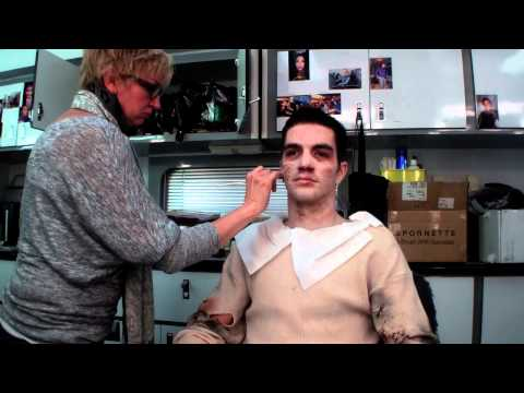 GLEE MAKEUP Tony Bellissimo THRILLER