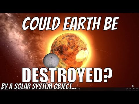 Could Earth Be Destroyed by an Asteroid or a Dwarf Planet?