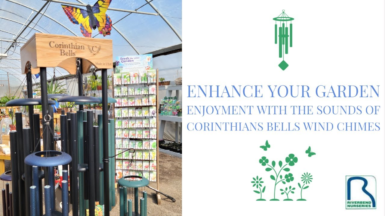 Enhance Your Garden Enjoyment with the Sounds of Corinthian Bells Wind Chimes