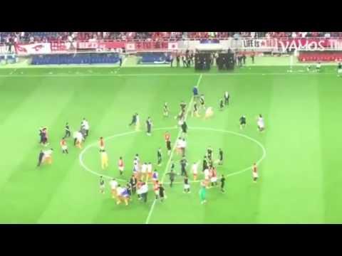 Perkelahian di Sepak Bola ACL! Korea - Trending Clip