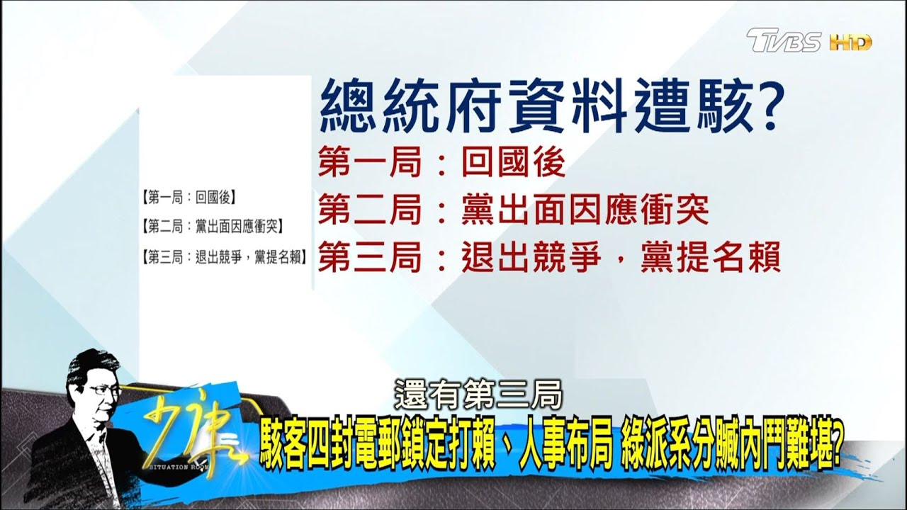 密件曝:陳其邁要蔡英文取回NCC人事主導權 綠治理危機? 少康戰情室 20200518 - YouTube