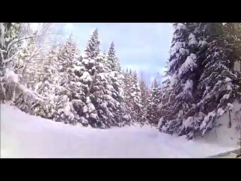 First Ride - January 23, 2016 - Pittsburg NH