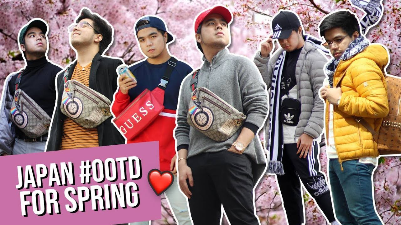 Spring Travel Outfit Ideas for Men (What I wore in Japan)  | Red Diaz