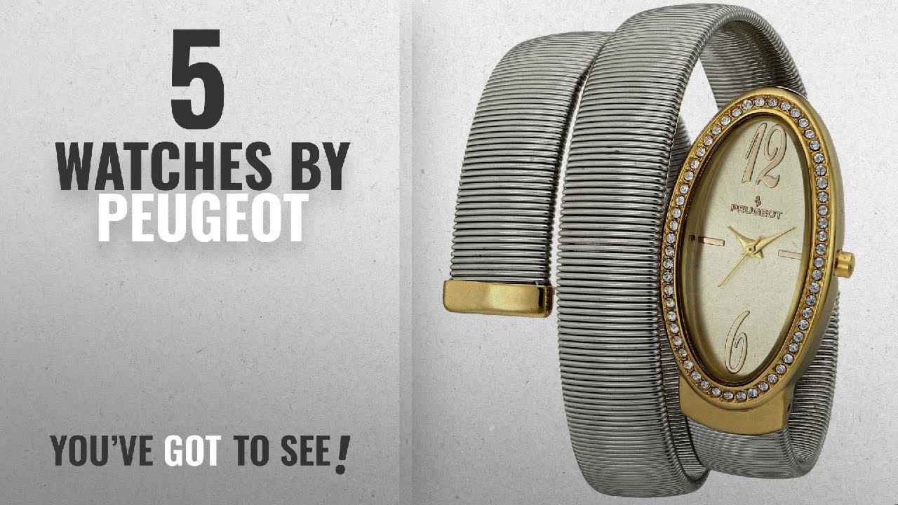 fcbe77d93 Top 10 Peugeot Watches [2018]: Peugeot Women's 7088TT Analog Display  Japanese Quartz Two Tone Watch