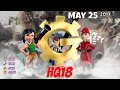 Boom Beach - HQ18 War Factory Unboosted - - May 25/2017