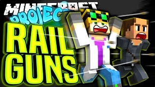 Minecraft - RAIL GUNS - Project Ozone #125
