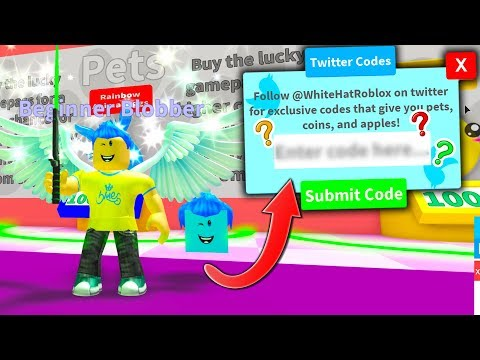 *NEW* SECRET CODE IN BLOB SIMULATOR GIVES YOU EXCLUSIVE RARE PET!! (Roblox)