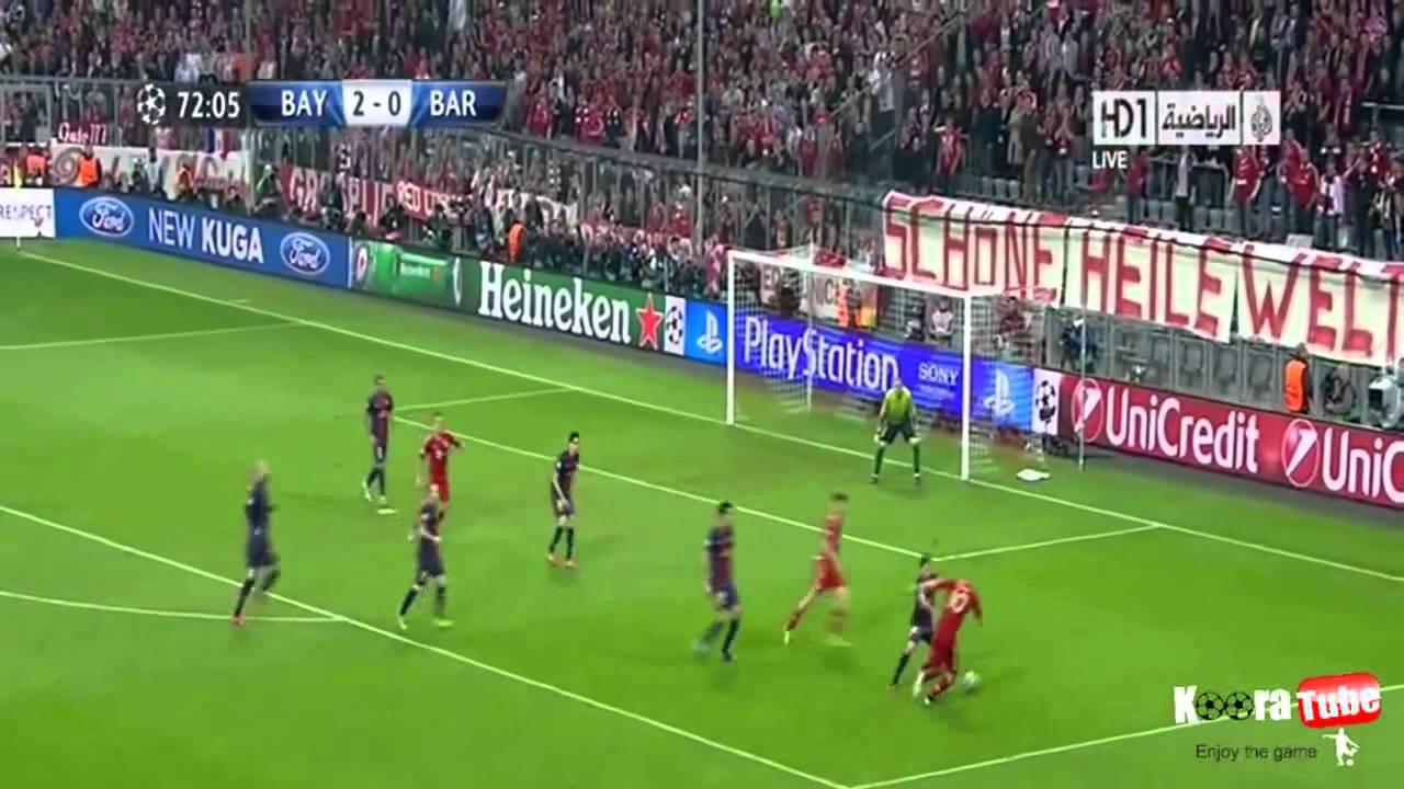 Download Bayern Munich vs FC Barcelona 4:0 - 23.04.2013 (Goals)