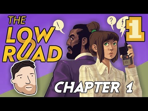 Let's Play The Low Road - PART 1: Pay Your Dues | Graeme Games | The Low Road Chapter 1 Gameplay
