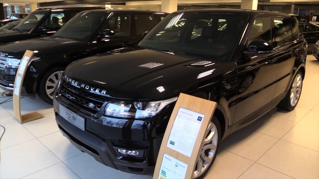 Range Rover Black Interior
