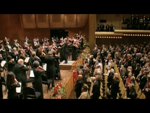 The Star-Spangled Banner: NY Philharmonic under Maazel, Masur, and Gilbert