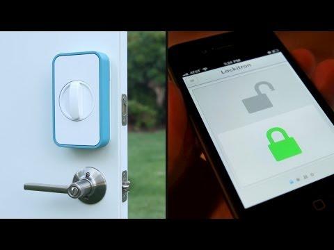 Lockitron - Keyless Entry Using Your Phone - YouTube