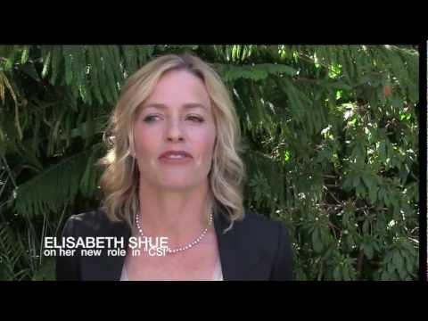 Elizabeth Shue: being a freshman on CSI