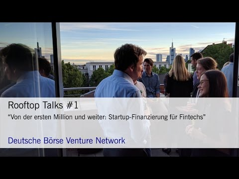 Rooftop Talks #1 im FinTech Hub