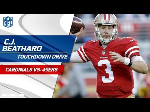 Beathard's Laser Pass to Goodwin Sets Up a QB Sneak for the TD! | Cardinals vs. 49ers | NFL Wk 9