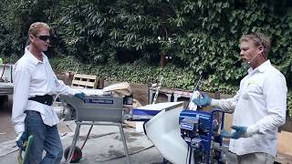 gracos mortarstuccoplastering pumps modern stucco application