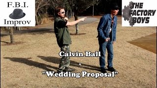 "Calvin Ball - ""Wedding Proposal"""