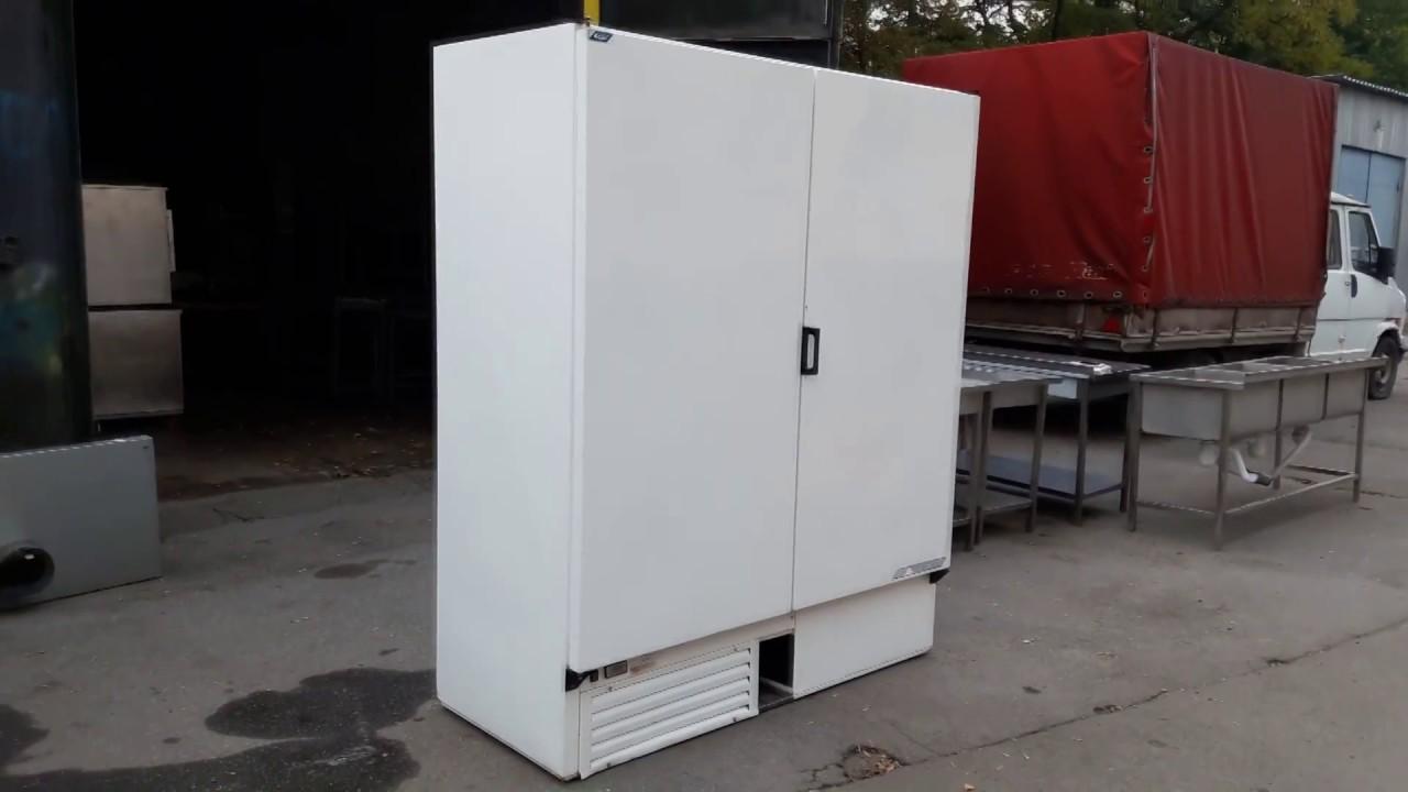 Шкаф холодильный б/у DAEWOO FRS-300RP - YouTube