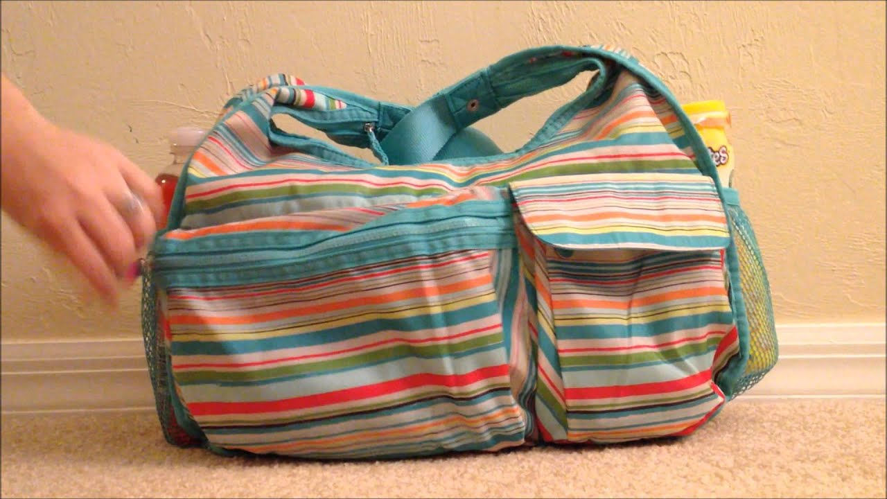 Thirty One Product Review Explorista Crossbody Used As A Diaper Bag You