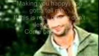 Tom Beck - Sit tight here with me (Lyrics)
