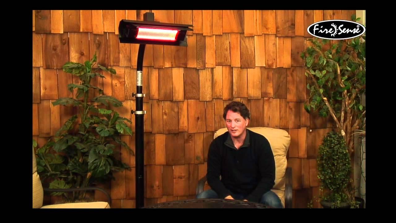 Mojave Sun Infrared Patio Heater Youtube