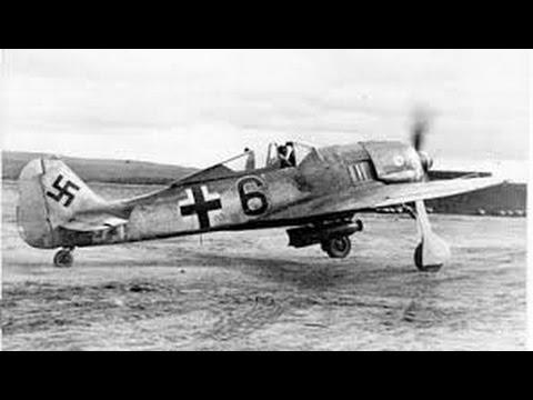 Focke-Wulf Fw 190. Seconda guerra mondiale.