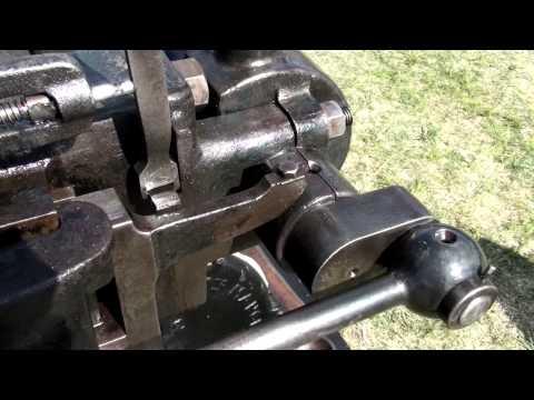 Crossley Slide Valve flame ignition engine