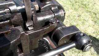 Crossley Slide Valve flame ignition engine