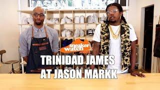 Trinidad James Gets His Rare Nike Blazers Cleaned at Jason Markk