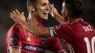 Lamar Hunt U.S. Open Cup Semifinal: LA Galaxy vs. FC Dallas: Matt Hedges Goal - Aug. 10, 2016