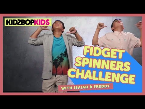 The Fidget Spinners Challenge with Isaiah & Freddy from The KIDZ BOP Kids