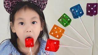 주사위 사탕 동요와 아이의 노래 | 어린이 교육 | 신나게 춤을 춘다고? | Synna