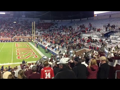 Mississippi State Band Trolls Ole Miss With 'Baby Shark' Song
