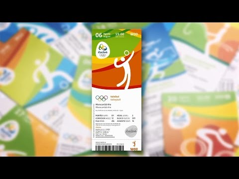 Conheça os ingressos comemorativos - Rio 2016