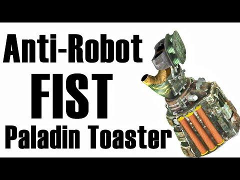 Fallout New Vegas: Unarmed ROBOT KILLER (Hidden Paladin Toaster Location)