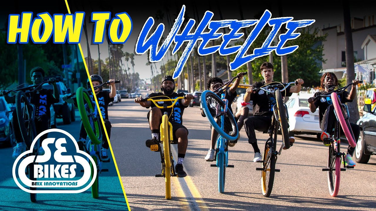 How to Wheelie with the SE Bikes Team