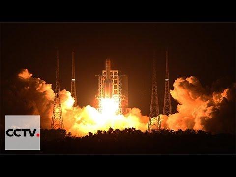 Video: China's biggest carrier rocket makes maiden flight