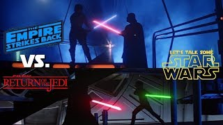 Luke vs Vader: Two duels at the heart of Star Wars, but which is best? (Let's Talk Some Star Wars)