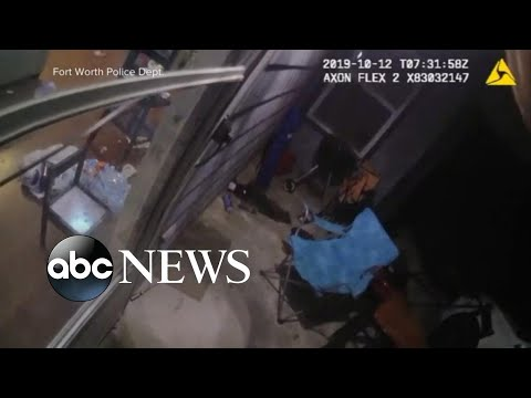 Cop seen shooting, killing woman in her own home | ABC News