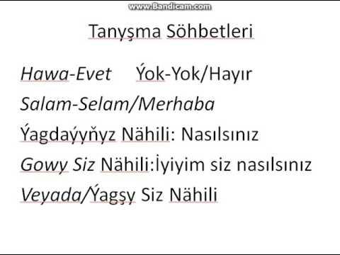 Özbekçe Selamlaşma