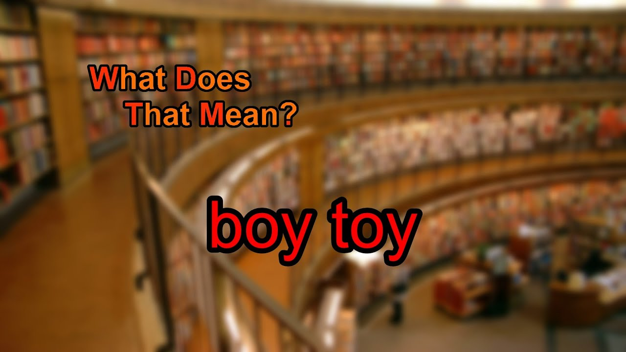 What Is A Boy Toy Mean What Does Boy Toy Mean In Urban Dictionary