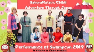 Ghibli Adventure Through Japan-SakuraNatsu Panel at Swampcon2019