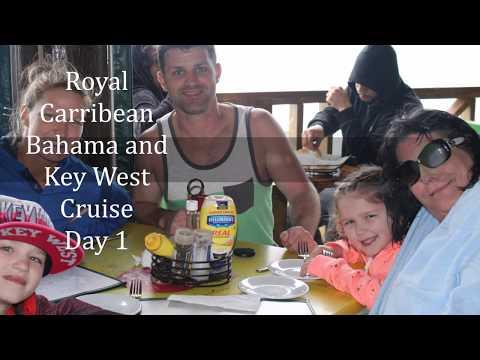 Day 1 - Royal Caribbean - Empress of the Sea - Key West Nassau Bahamas