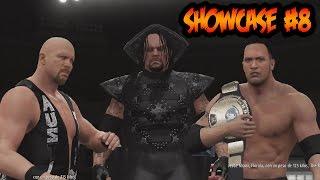 WWE 2K16 - Showcase - Rivalidad con The Undertaker y The Rock , Me atacan con una Pala!